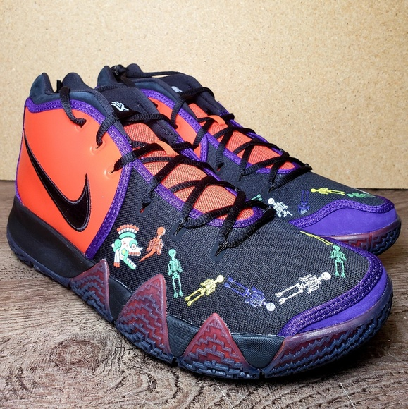 buy popular 561e8 3f497 Nike Kyrie 4 Day of the DEAD New Release Mens